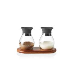 LEONARDO Salzstreuer FIRENZE Salzstreuer und Pfefferstreuer aus Glas, (3-tlg)