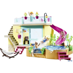 Playmobil® Freizeit Bungalow mit Pool 70435
