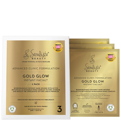 Instant Facials Gold Glow Instant Gesichts-Multi-Pack