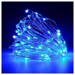 TOPMELON Lichterkette, 2M / 3M / 5M / 10M, Wasserdichte, Dekorative leichte Kette blau 10 m
