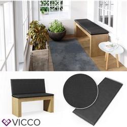 VICCO Bankauflage 100x40x5cm Bankpolster Gartenbank-Auflage Sitzpolster Auflage