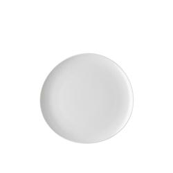 Rosenthal Speiseteller Junto Weiß Speiseteller 27 cm, (1 Stück)
