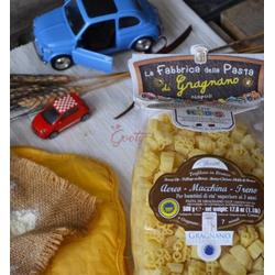 La Fabbrica della Pasta Exzellente Nudeln für Kinder IGP - Flugzeug, Auto und...