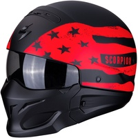 Scorpion Exo-Combat Rookie Matt-Black/Red