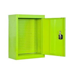 Armoire métallique pour outils de jardin KIT CABINET TOOLS PANNEL - 675 x 500 x 200 mm - Vert