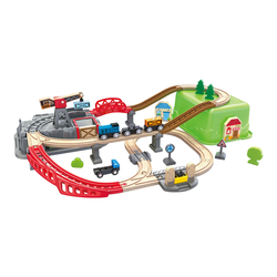Hape Eisenbahn Baukasten-Set