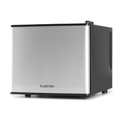Geheimversteck Minibar Minikühlschrank 17l 50W A+ silber