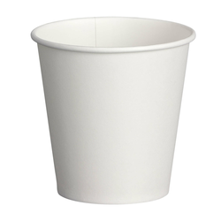 Espresso Kaffeebecher weiß 80 ml 110 ml  Pappe beschichtet,  50 Stk.