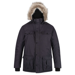 Regatta Adair Herren Parka anthrazit L
