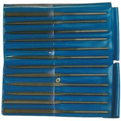 Nadelfeilen 160 mm Hieb 2 in Plastikbox