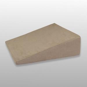 Fränkische Schlafmanufaktur Venenkissen viskoelastisch, Lagerungskissen, Beinkissen, Keilkissen, Farbe Hellbraun
