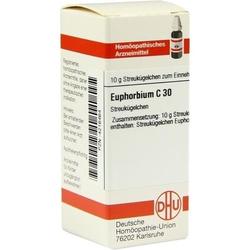 EUPHORBIUM C 30 Globuli 10 g