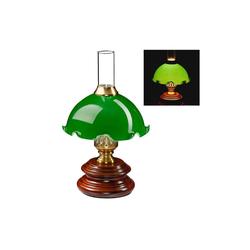 relaxdays Tischleuchte Tischlampe Jugendstil grün
