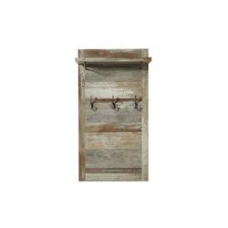 Garderobenpaneel Bonanza in Dritwood-Optik