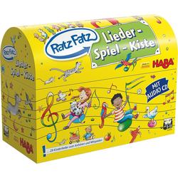 Haba Lernspielzeug Ratz Fatz Lieder-Spiel-Kiste