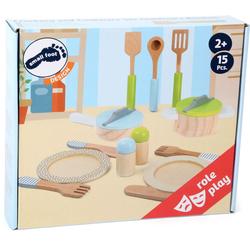 small foot - Geschirr- und Topfset Kinderküche