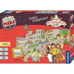 KOSMOS STORY PUZZLE Die Schule der magischen Tiere - Endlich ausgegeistert! Puzzle 200 Teile