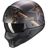 Scorpion Exo-Combat Evo Rockstar schwarz-matt-gold