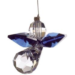 HCA 5080dsa Swarovski Kristall Schutzengel klein dunkler Saphir