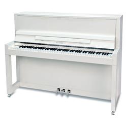 Feurich Mod. 115 Premiere Silent Piano Weiß - Chrom