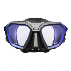 Scubapro Tauchmaske - D-Mask - Blau Schwarz - Gr: M