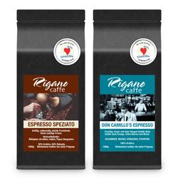 """Kaffeebohnen-Set """"Rigano Espresso Set"""", 2 x 1 kg"""