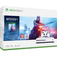 1TB weiß + Battlefield V - Deluxe Edition (Bundle)