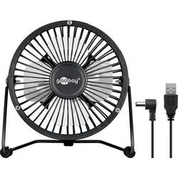 USB Ventilator 4 Zoll für den Schreibtisch mit AN/AUS Schalter, schwarz