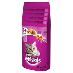 WHISKAS Tuna Katzenfutter 14kg + Dreamies 15g (Rabatt für Stammkunden 3%)