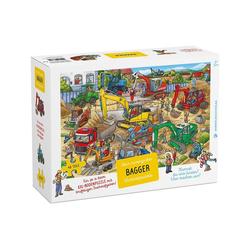 Wimmelbuch Verlag Puzzle Bagger Puzzle, Puzzleteile