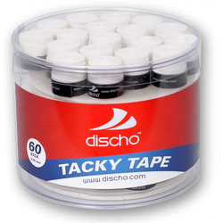 DISCHO - TACKY TAPE weiß - 60er Box - 0,5 mm