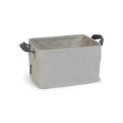 BRABANTIA Faltbarer Wäschekorb 35 Liter grau