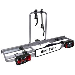 EUFAB Kupplungsfahrradträger Bike Two, für max. 2 Räder