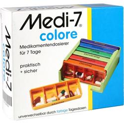 MEDI 7 Medikamentendos.f.7 Tage colore