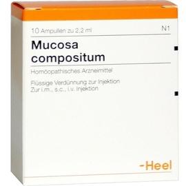 Heel MUCOSA compositum Ampullen 10 St.