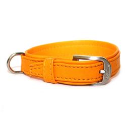 Wolters Halsband Terravita Leder flach, 60cm x 40mm mango