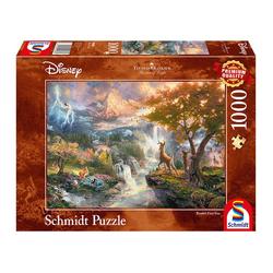 Schmidt Spiele Puzzle Disney, Bambi Thomas Kinkade, 1000 Puzzleteile