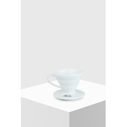 Hario Coffee Dripper V60 01 Ceramic white Kaffeefilter