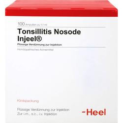 TONSILLITIS Nosode Injeel Ampullen 100 St.