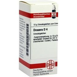 DROSERA D 4 Globuli 10 g