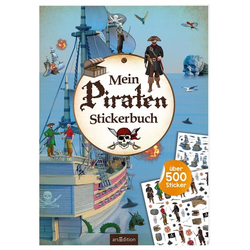 Mein Piraten-Stickerbuch als Buch von