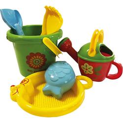 Sandspielzeug by GOWI, 6-tlg. bunt