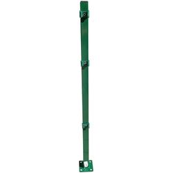 Peddy Shield Zaunpfosten, 110 cm Höhe, für Ein- und Doppelstabmatten grün
