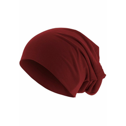 MSTRDS Beanie Oversize rot