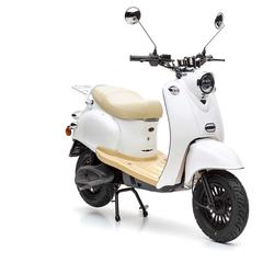 Nova Motors eRetro Star 50 elektro diamond white - Elektromotorroller -45 km/h