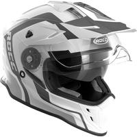 Rocc 781 Motocross Helm, schwarz-weiss, Größe XS