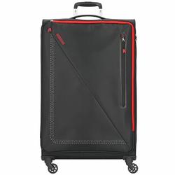 American Tourister Lite Volt Walizka na 4 kółkach 79 cm black/red