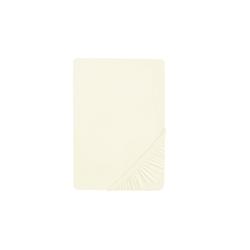 Biberna Boxspring-Spannbetttuch in creme, 180 x 200 cm