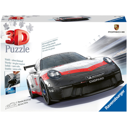 Ravensburger 3D-Puzzle Porsche GT3 Cup, 108 Puzzleteile, Made in Europe