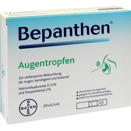 BAYER BEPANTHEN Augentropfen 20 x 0.5 ml